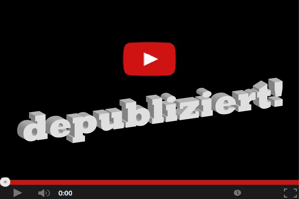 Dieses Video wurde wegen des 12. Rundfunkänderungsstaatsvertrag wieder vom Netz genommen. Infos: http://de.wikipedia.org/wiki/Depublizieren