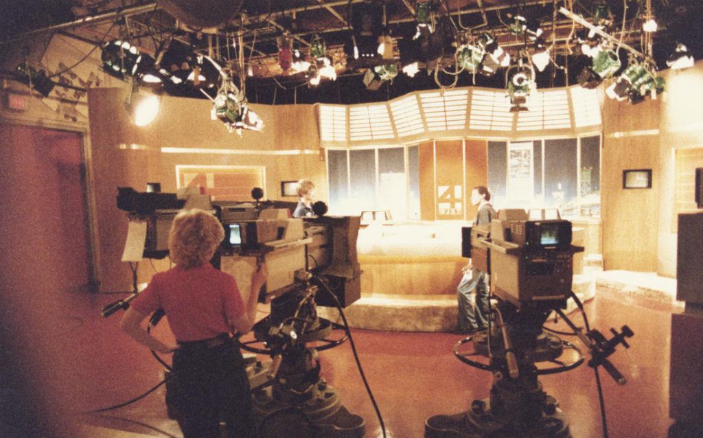 Ein Fernsehstudio in den 1980er Jahren. Foto: J.C.Burns / Flickr