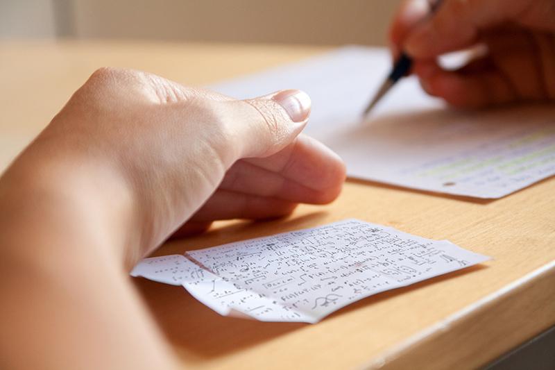 Abschreiben bei den Besten hilft ... manchmal. Foto: © lassedesignen - Fotolia.com