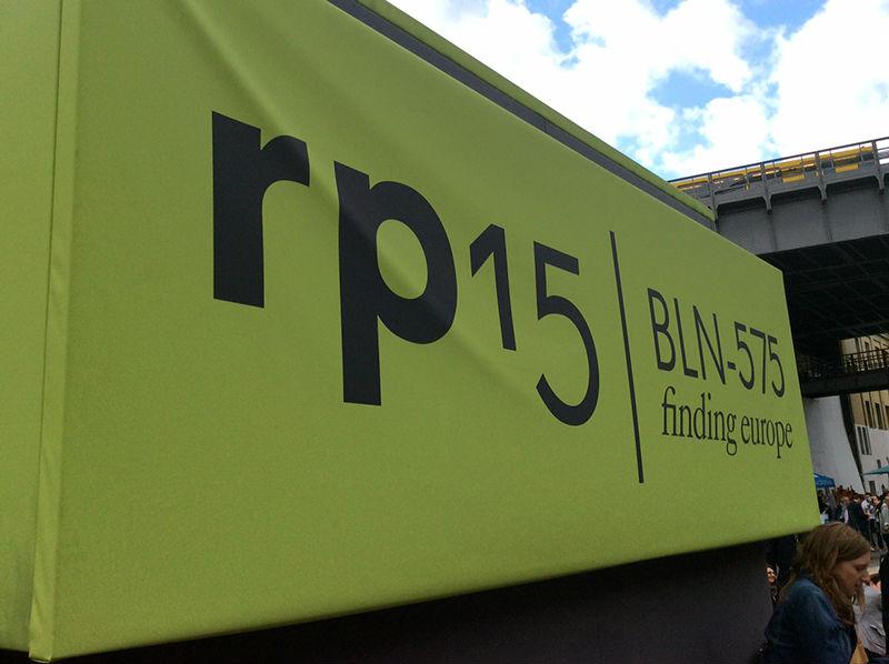 Auf der re:publica15. Foto: Stefan Westphal